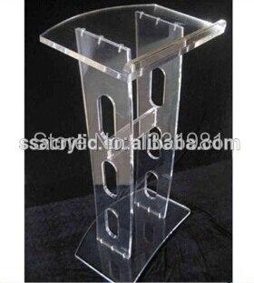 Church Acrylic Podium/Transparent Acrylic Teaching Platform