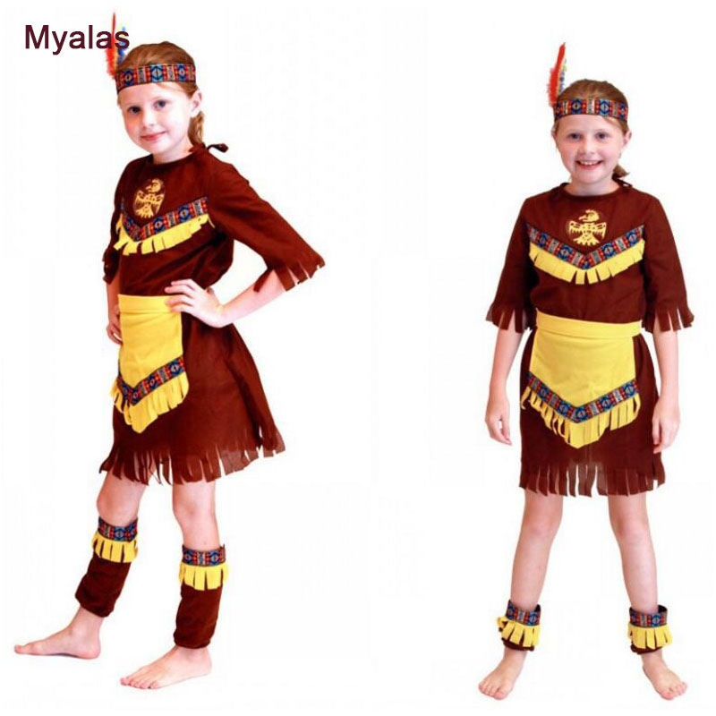 Kids Girls Prince of India Cosplay Halloween Hunter Costumes Masquerade Rave Party Hunter Clothes Party Dress Christmas Gift