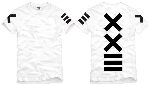 Japanese XXlll street hip hop HBA Tide Printed Mens T Shirt  Fashion 2016 New Short Sleeve O Neck Cotton T-shirt Tee 5
