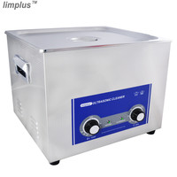 Limplus Best Ultrasonic Cleaner 15L Ultrasonic Washing Machine With Drainage Basket Lid Removal of dirt from motorcycle radiator