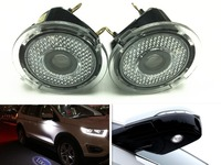 2x LED Side Mirror Door Ghost Shadow Projector Laser Welcome Courtesy Light FOR Ford Edge Mondeo