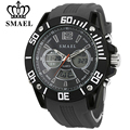 SMAEL Waterproof Men Sports Watch Outdoor Fashion Military Wristwatches Digital Quartz LED Electronic Watches Relogio Masculino