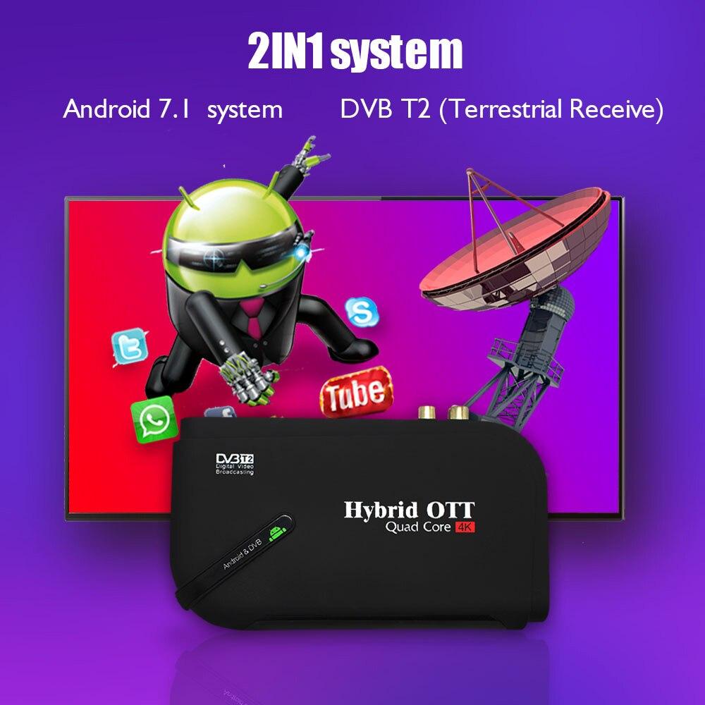 digital combo amlogic s905d t2 google media player