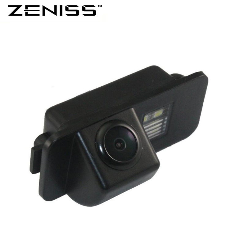 imágenes para Venta caliente Cámara de Vista Trasera Del Coche para Ford Mondeo Focus2 Zeniss hatchback Coche Cámara CCD de copia de seguridad con visión nocturna resistente al agua