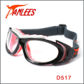 PANLEES Basketball Goggles with Protective Nose Pads, Football Sport eye glasses frame Soccer Nearsighted Myopia Goggles