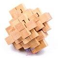 Игрушки Для Детей и Взрослых 24 Любань Блокировки Деревянные Игрушки Монтессори образовательных Головоломки Подарок Китайской Игры От Древних Мудрецов