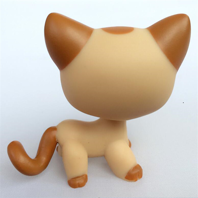 Pet Shop LPS #1121 Animals Tiger Yellow Short Hair Kitty Figure Doll Child Toy LPS toys FREE SHIPPING