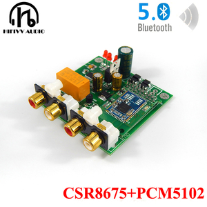 Image 1 - CSR8675 + PCM5102A Bluetooth 5.0 APTX HD DAC Bluetooth Receiver Supports analog input and output