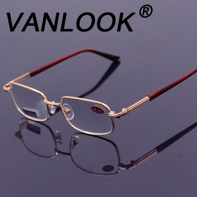 Gafas de lectura para hombres Vidrio Visión lejana +50 +75 +100 +125 +150 +175 200 +225 +275 +225 +350 +375 400 +450 +500 +550 +600