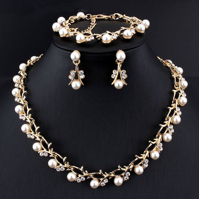 Weibang Pearl Jewelry Sets...