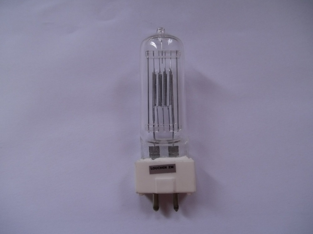 Free shipping GCT 230V 650W GY9.5 halogen bulb lamp stage light jcd 100v 650w cl projection halogen lamp 100v650w enlarger photo photographic bulb free shipping