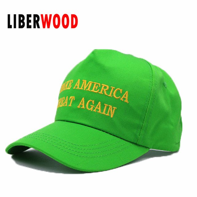 b7d68377f41 Pepe Donald Trump cap MAGA hat Make america great again green hat Shadily  Green
