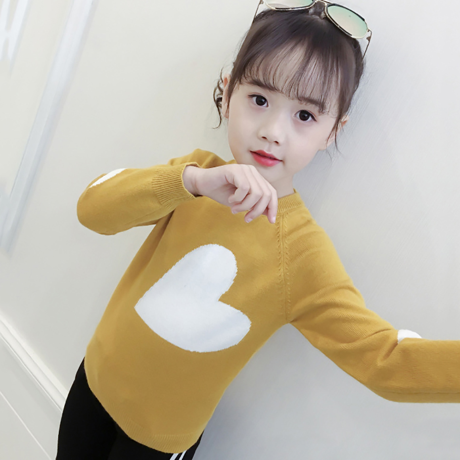 Image 3 - New Girls Sweater Print Sweater For Girls Spring Kids Clothes Teen Kids Top Children's Costume For Teenage Girl 6 8 12 Years-in Sweaters from Mother & Kids