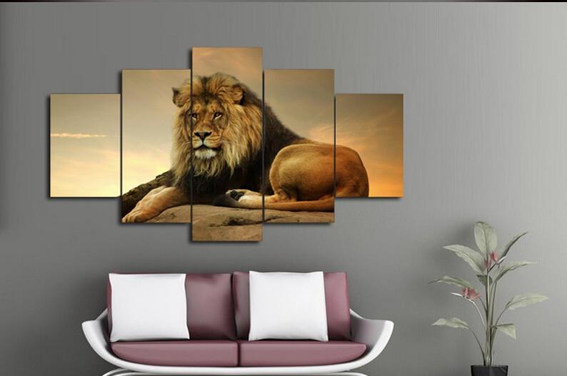Lion Living Room Decor