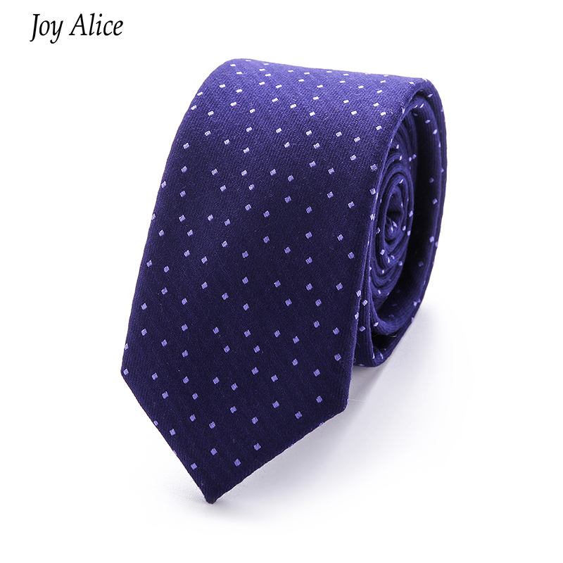 2018 Fashion Brand tie men 6 cm narrow ties cotton Dot Striped Plaid - Apparel Accessories - Photo 1