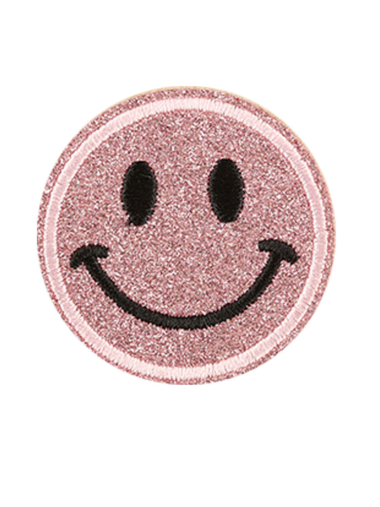 Ricamate SMILE 8 x 8 cm patch