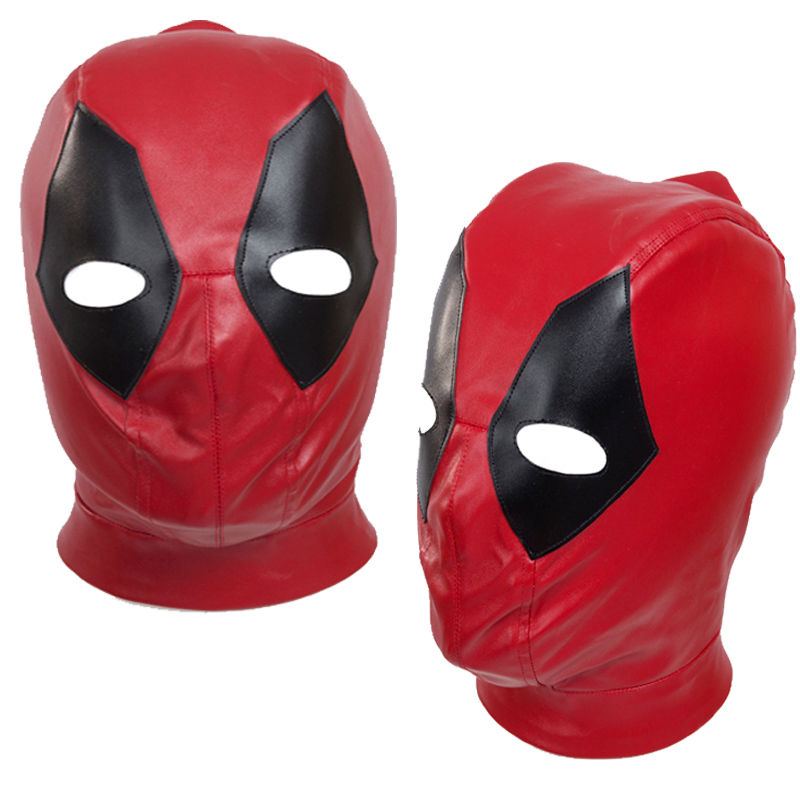 Mask Accessories Cosplay X-Men Deadpool Headwear Prefect PU One Size Handmade