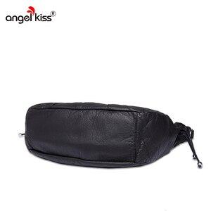 Image 5 - Angelkiss kobiety torebka PU skórzane torby kobiet kluski torba na ramię crossbody Top uchwyt torebki dużego ciężaru torba Bolsa