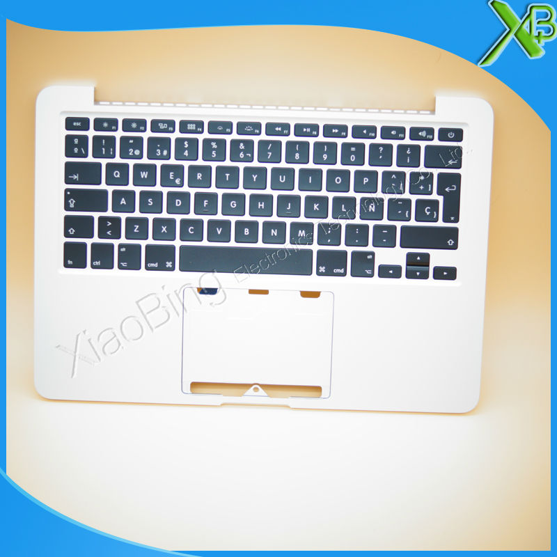 New TopCase with SP Spanish Keyboard for MacBook Pro Retina 13.3