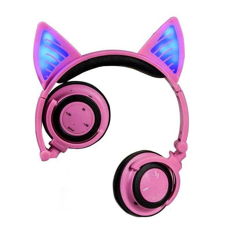Headset Bluetooth Headset Foldable Cat Ear Smart Bluetooth HeadsetHeadset Bluetooth Headset Foldable Cat Ear Smart Bluetooth Headset