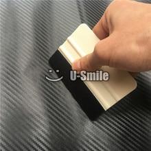 100 pcs/Lot Custom Logo Car Vinyl Wrap Application Tools White Felt Squeegee For Car Sticker & Sign Vinyl