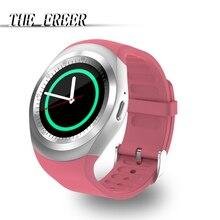 Спорт Y1 Smart Watch Поддержка Nano SIM-карты TF-карты цифровые наручные часы Q18 M26 GT08 U8 Wearable Electronics Stock для iOS Android