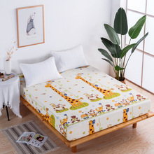 15 Options Printing Bed Mattress Cover Waterproof Protector Pad Fitted Sheet Separated Water Linens with Elastic
