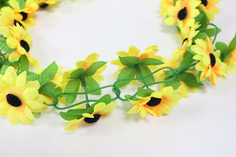 artificial flowers simulation flower cane wholesale Sunflower cane Sunflower cane home flowers decoration (9)