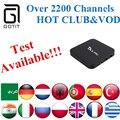 Irán TX5Pro IPTV Smart TV Caja with2200 + Potencia Asiática India Pakistán REINO UNIDO Corea Tailandia Deporte Kurdo Isreal Alemania XXX canales