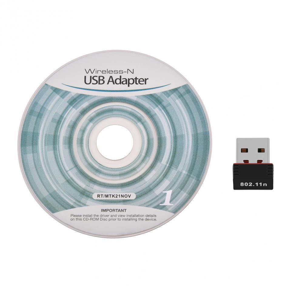 Blue-Ocean-11 Wireless WiFi 150Mbps USB 2.0 Adapter RTL8188CU 2.4Ghz 802.11b//g//n Wlan Network Card Dongle for Desktop PC Laptop