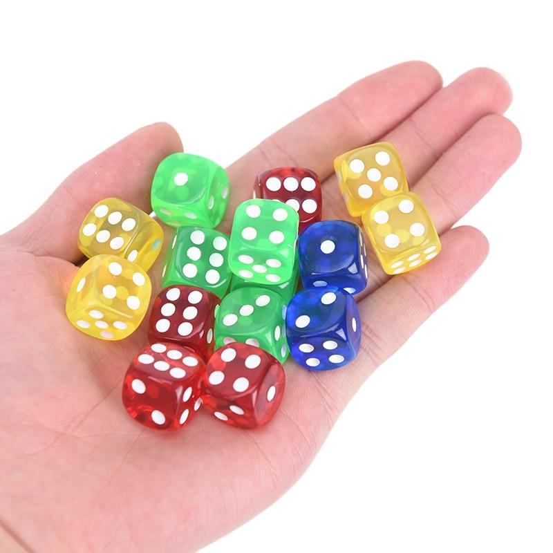 Corredores arredondados 16mm, quatro cores, transparentes (azul, verde, 24 peças amarelo, vermelho todos os 6)