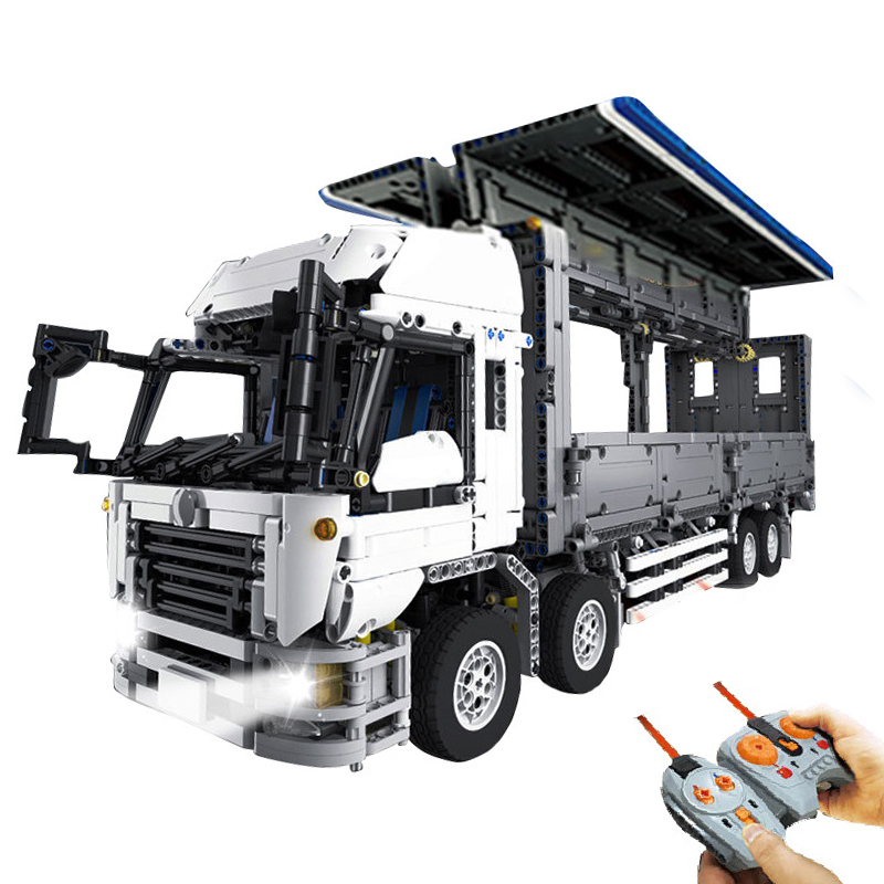 Lepin 23008 4380Pcs Technical Series The MOC Wing Body Truck Compatible With lego 1389 Building Block Brick Children Toys Gift 23008 4380pcs technical series the moc wing body truck set compatible with 1389 educational building blocks children toys