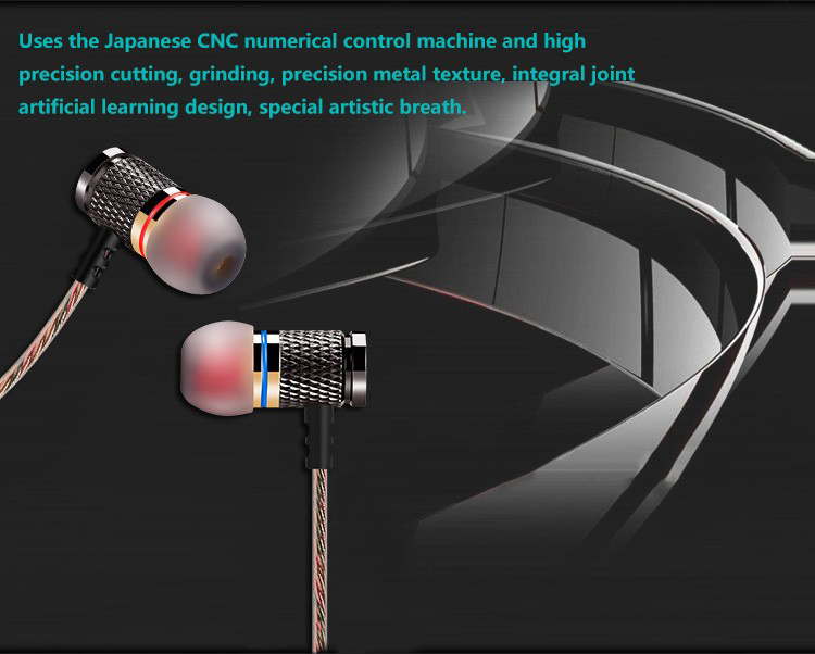 KZ-ED2 Professional In-Ear Earphone Metal Heavy Bass Sound Quality Music Earphone China's High-End Brand Headset fone de ouvido 12