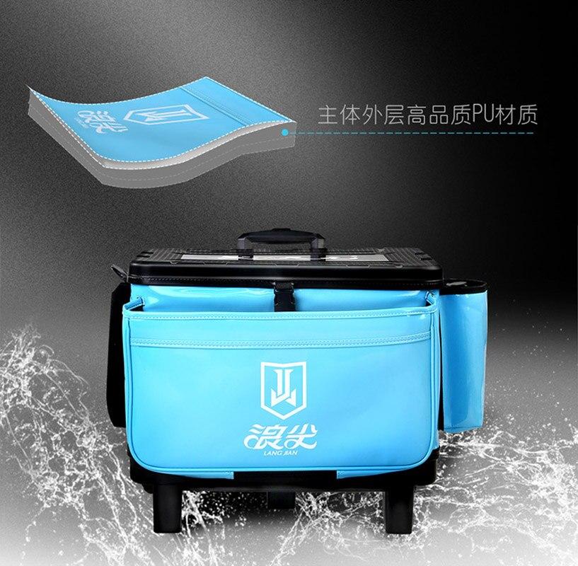 Коробка с тяговым стержнем Abs Multi function waterproof утолщение рыболовное ведро, рыба баррель, Живая рыба, сумка, волна совет Ro