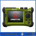 Orientek TR600 SM OTDR Tester Com Traço Analisando Software SV20A 1310/1550nm 32/30dB OTDR Embutido Falha Visível localizador