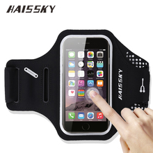 5.5″ Universal Sport Running Armband For iPhone 6 6S 7 Plus Samsung Galaxy S7 Edge Note 5 Huawei P9 P10 Plus Holder Cover