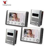 freeship DHL 7inch Door Monitor Video Intercom Home Door Phone Recorder System Supported Waterproof Rain Cover