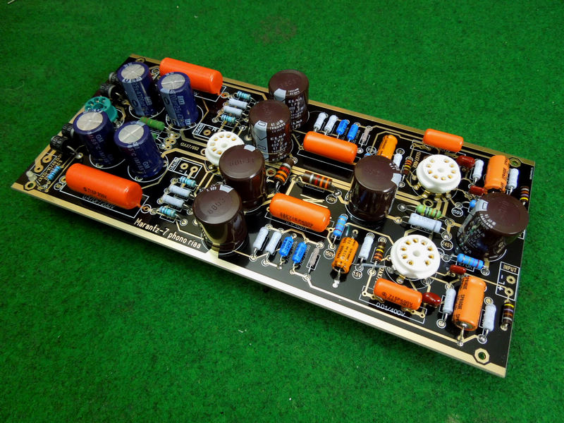 Hi-End M7 Vacuum Tube Phono Riaa LP Turntable Preamplifier HiFi Stereo Marantz 7 Preamp Assembled Board(Without Tube)