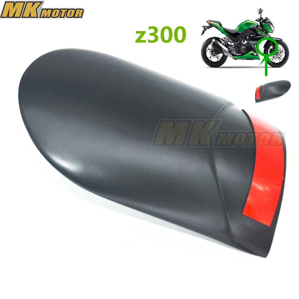 Motorcycle Front Fender Extension Extender For Kawasaki  Ninja 300 13-17  Z300 z300 2015-2017 motorcycle front