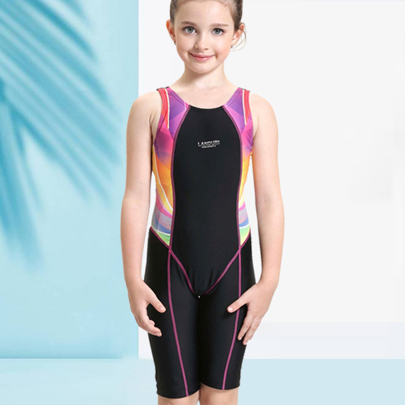 kostengünstig zeitloses Design am besten geliebt Sport Badeanzug für Mädchen Kinder Schwimmen Kleidung Bikinis One-piece  Bademode Kinder Professionelle Baby anzug sport badeanzug