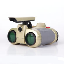 VILEAD Children 4 x 30 Night Vision Surveillance Scope Binoculars Telescopes with Pop-up Light Brand New Gift for Kids(China)