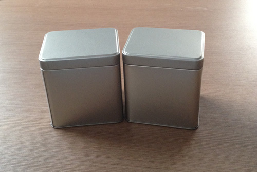 Aluminium Vessels Hsn Code 11x 8 8x12cm Silver Color Metal Box With Lid Rectangle