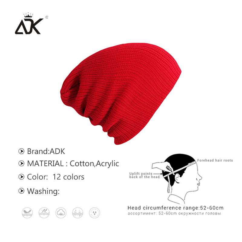 Winter Warm Beanies Hats Acrylic Skullies Hip Hop Soft Knitted Hat Female Cap For Boys Girls Outdoor Caps Fashion Accessory 4