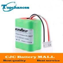Высокое качество Новинка 7,2 года В полный 2500 мАч вакуум Замена Батарея для iRobot Roomba Braava 380 и 380 т