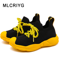 2019 Autumn New Kids Slip On Casual Sneakers Children Sport Sneakers Baby Girls Black Shoes Boys Sneakers Toddler Brand Trainer