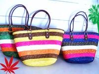 42x31 CM Novo Popular bolsa de Palha Bolsa de Praia de Lazer, mão-tecido Grama Natural Material, Saco da Palha do trigo A4110