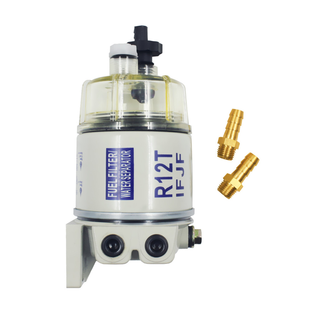 R12T Fuel Water Separator Filter diesel engine for Racor 140R 120AT S3240 NPT ZG1 4 19