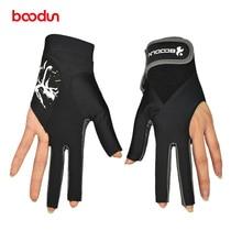 Кроссовки унисекс профессиональные бильярдные перчатки 3 пальца Snookers перчатки дышащие противоскользящие бильярдные перчатки аксессуары