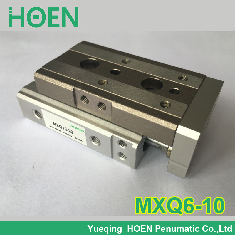 MXQ6-10 AS-AT-A SMC MXQ series Slide table Pneumatic Air cylinders  pneumatic component air tools MXQ series mxq16 30 as at a mxq16l 30 smc mxq series slide table pneumatic air cylinders pneumatic component air tools mxq slide cylinder