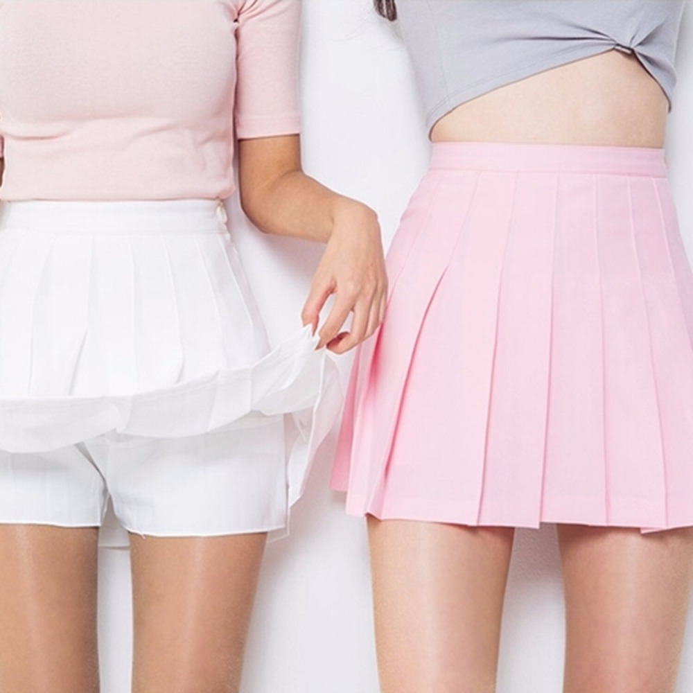 Online Get Cheap Pink Pleated Mini Skirt -Aliexpress.com | Alibaba ...